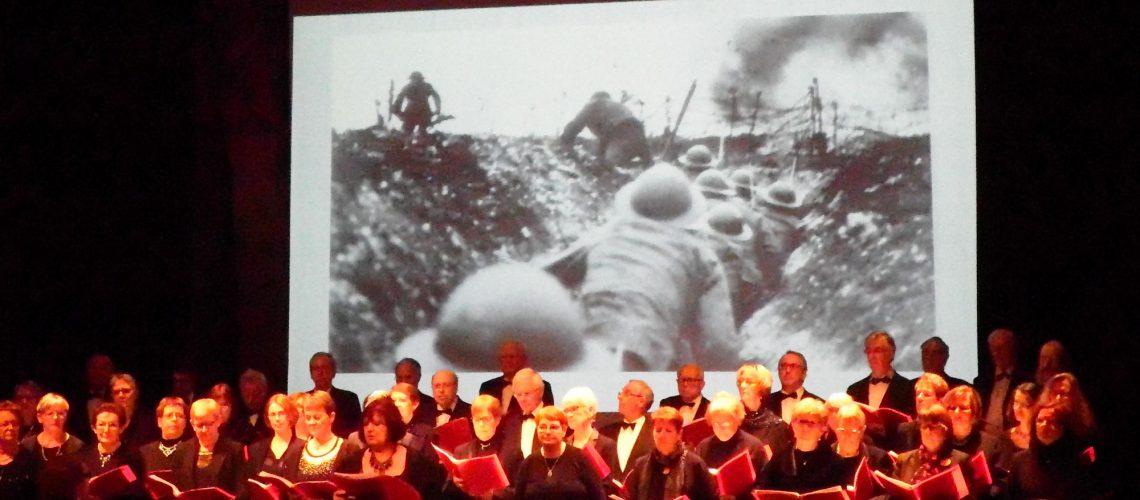 Concert commémoratif centenaire guerre 1914-1918 Doullens 1
