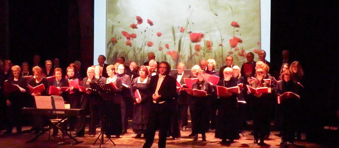 Concert commémoratif centenaire guerre 1914-1918 Doullens 2