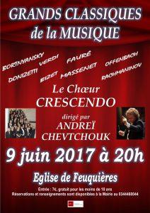 Concert à Feuquières dans l'Oise