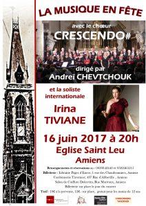 Concert à Amiens, église St Leu