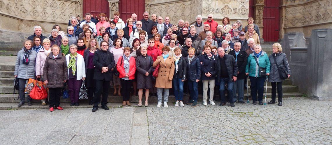 Avec les allemands de Solingen, 7 avril 2019